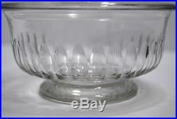 DRAGEOIR cristal taillé BACCARAT louis-Philippe XIXe