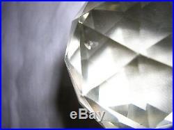 Flacon En Cristal De Baccarat Violet Haut 18 CM