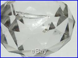 Flacon à parfum en cristal de BACCARAT gravé à l'acide modèle Stella