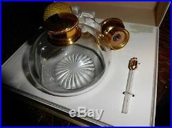 Flacon vaporisateur cristal Baccarat dans coffret