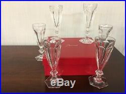 Flûte à champagne Service Harcourt en cristal de Baccarat (7 disponible)