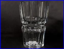Grand vase cristal taillé Baccarat France modèle Edith XXème siècle