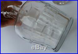 Hermes Cave A Liqueur Cristal Baccarat Carafe Bouteille Cuir Rare