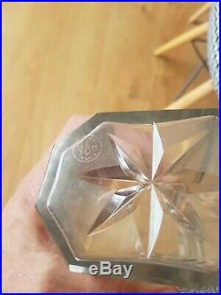 Jolie Carafe En Cristal De Baccarat Argent Massif Minerve Old Crystal 1930/40