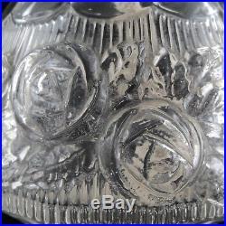 LAMPE BERGER PARIS Ancienne, Verre Moulé ART DECO, 1930 Glass Design/baccarat