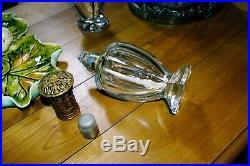 Lampe Berger en cristal P Amphore Baccarat translucide