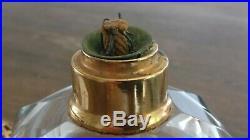 Lampe berger ancienne en cristal de Baccarat Modèle Boule