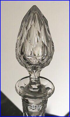 Magnifique carafe à Eau en cristal taillé de Baccarat Modèle Juvisy, Nimes