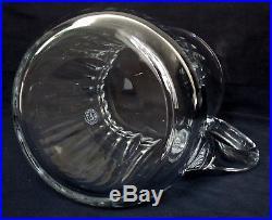 Pichet / broc / carafe à eau en CRISTAL DE BACCARAT, modèle PICCADILLY SIGNE
