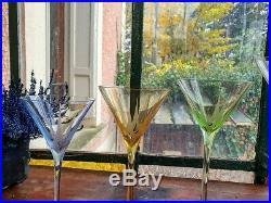 Rare Baccarat coupes Bouquet