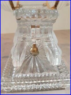 Rare Cave à Liqueur Tonnelet Cristal BACCARAT fin XIXème
