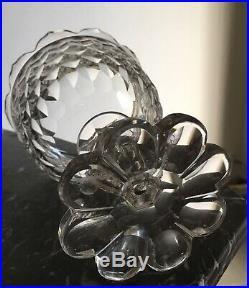 Rare Grand Drageoir Compotier En Cristal De baccarat Modèle Juvisy Nimes