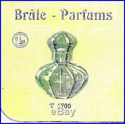Rare Lampe Berger Cristal Baccarat Harcourt État Neuf Réfencé Au Catalogue 1916