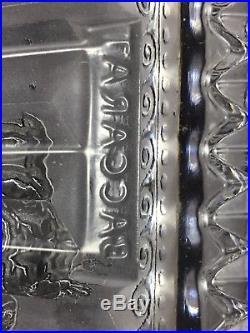 Rare Pendule fronton en cristal de Baccarat