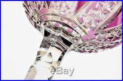 Rare verre à vin du Rhin ou Roemer en cristal de Baccarat modèle Condé