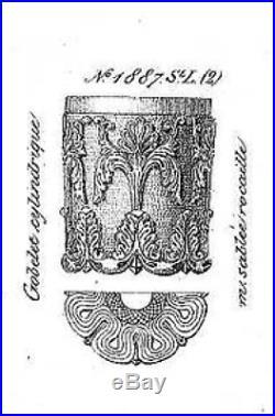 Saint Louis Baccarat Le Creusot Verre Gobelet Cristal Napoleon Empire 19eme 1887