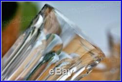 Série de 6 verres à whisky en cristal de Baccarat modèle Harcourt 9 cm