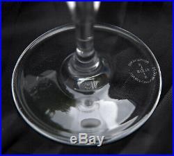 Service 6 flûtes champagne cristal BACCARAT Bertrichamps KLEIN coffret NEUF