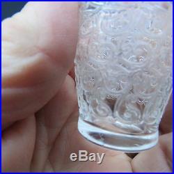Service a liqueur 1 carafe et 8 verres en cristal de baccarat modèle rohan