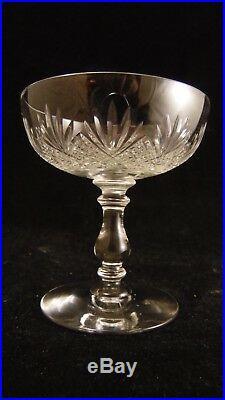 Service de 6 coupes à champagne en cristal de Baccarat forme 62 taille 6073