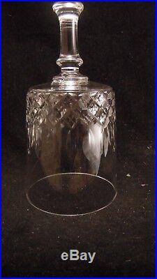 Service de 6 verres à eau en cristal de Baccarat modèle cylindrique taille 5475