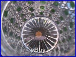 Service toillete cristal taillé Baccarat Diamant Pierreries France époque 19ème