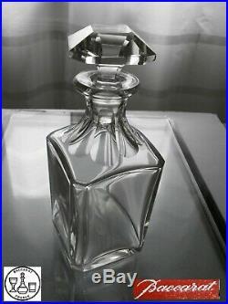 Superbe Carafe A Whisky En Cristal Baccarat Modele Harcourt Signee