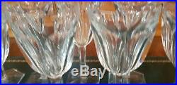 Superbe Serie De 10 Verres A Vin Cristal Baccarat Modèle Compiègne