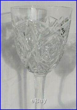Superbe Service De Verres A Pied En Cristal De Baccarat Lagny 36 Pieces