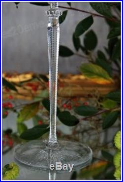 Très rare verre à vin en cristal de Baccarat modèle Tsar 36 cm