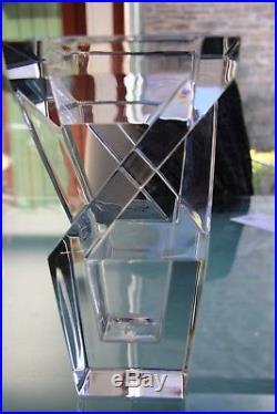 Vase cristal signé Baccarat