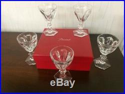 Verre à vin rouge Service Harcourt en cristal de Baccarat (12 verres disponible)